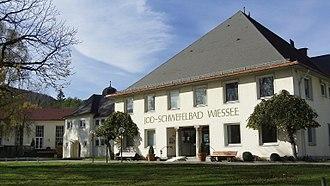 Bad Wiessee - Iodine sulfur bath in Bad Wiessee