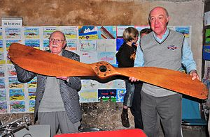 Baird Family with Monoplane propeller (2010).