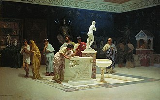 "Gaius Maecenas - Stefan Bakałowicz. ""At Maecenas' reception room"""