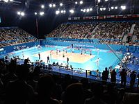 Baku Crystal Hall woman volleyball final match 1.jpg