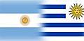Bandera argentina y uruguay.jpg