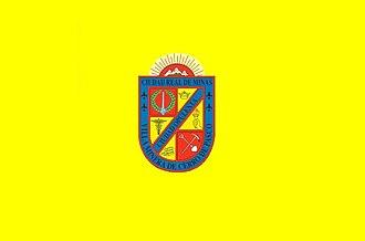 Cerro de Pasco - Image: Bandera de Cerro de Pasco