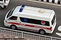 Bangladesh Fire Service and Civil Defence Kingstar Neptune L6 Ambulance (23041972873).jpg