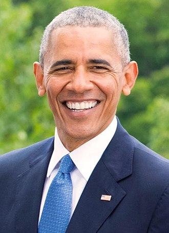 Fake news website - Image: Barack Obama in 2016