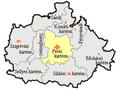 Baranya megye, pécsi kistérség.png