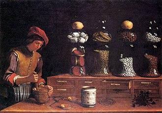 Paolo Antonio Barbieri - The Spice Shop, 1637.