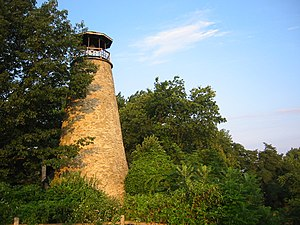 National Register of Historic Places listings in Chautauqua County, New York - Image: Barcelona Lighthouse Present