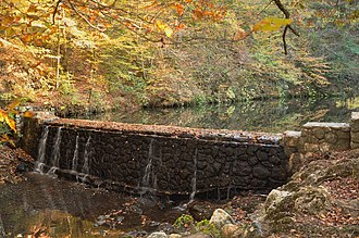 National Register of Historic Places listings in Polk County, Arkansas - Image: Bard Springs Dam