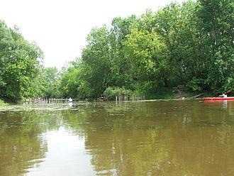 Bark River (Rock River tributary) - Kayaks on the Bark River