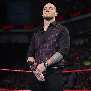 Baron Corbin as constable of Monday night raw.jpg