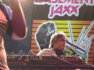 Basement Jaxx - Buxton performing at the LA Weekly Detour Music Festival in 2006.