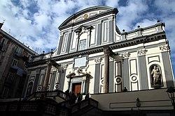 Basilica di San Paolo Maggiore (Napoli), facciata 01.jpg