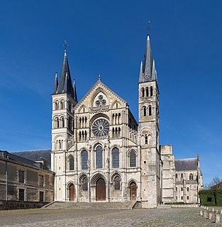 basilica located in Marne, in France