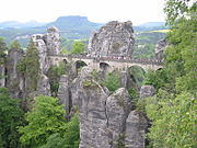 Saxon Switzerland National Park in Germany.