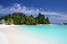 A Beach Of Bathala Island