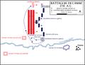Battaglia di Canne, 215 A.C. - Attacco iniziale romano.png