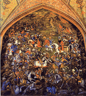 Battle of Chaldiran - Artwork of the Battle of Chaldiran.