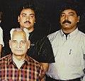 Bau ji with his sons mahesh and gowri shankar.jpg