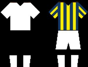 Beşiktaş–Fenerbahçe rivalry - Image: Beşiktaşvs Fenerbahçekits