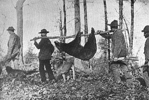 Hunters with an American black bear in the Great Smoky Mountains Bear-hunters-kephart-nc1.jpg