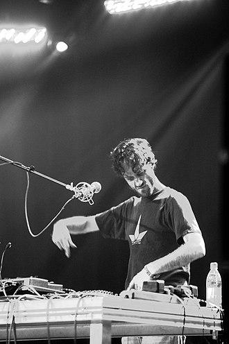Beardyman - Beardyman performing on his Kaoss Pads, July 2011