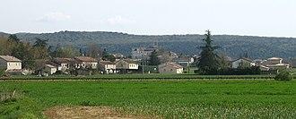 Beaulieu, Ardèche - A panoramic view of Beaulieu