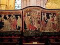 Beaune, Collégiale Notre-Dame, Tapisseries de la Vierge 001.JPG