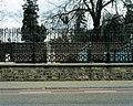 Beboomde en ommuurde begraafplaats met hekken langs de straat , aangelegd in 1796 en later meermaals - 375484 - onroerenderfgoed.jpg