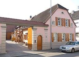 Kirchenstraße in Beindersheim