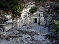 Beit She'arim - Cave of the Crypts from outside (1).jpg