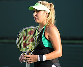 Winnares in het enkelspel, Belinda Bencic