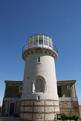Belle Tout Lighthouse - Image: Belle Tout Lighthouse View From Front