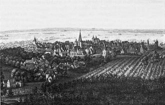 Bensheim - Bensheim about 1612