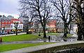Bergen - Teaterparken ved Den Nationale Scene mot Engen.jpg