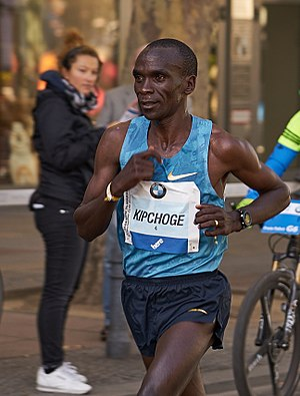 Eliud Kipchoge - Image: Berlin Marathon 2015 Runners 0
