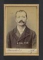 Bernard. Paul, Auguste. 32 ans, né à Crest (Drôme). Employé. Excitation au meurtre, anarchiste. 11-2-94. MET DP290155.jpg