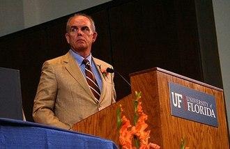 History of the University of Florida - President Bernie Machen