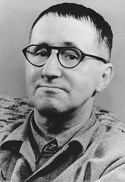 Picture of an author: Bertolt Brecht