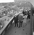 Bezoek van President Schärf aan Rotterdam President Schärf en Prinses Irene op , Bestanddeelnr 912-4904.jpg
