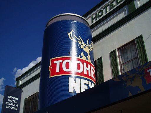 Big Beer Can Tooheys