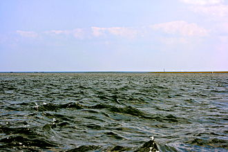 Leech Lake - The larger east portion of Leech Lake, as seen from The Narrows