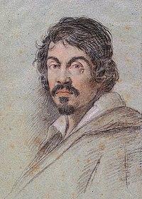 Портрет Караваджо работы Оттавио Леони, ок. 1610 года