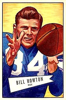 Billy Howton American football wide receiver