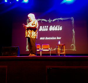 Bill Oddie - Bill Oddie performing live at the Astor Theatre in Perth, Western Australia, 27 June 2013.
