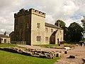 Birdoswald Roman Fort's Victorian Building.JPG