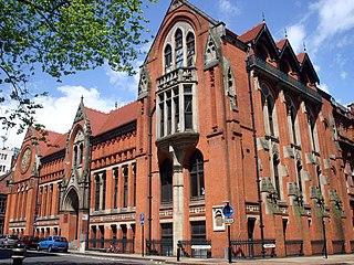 Birmingham School of Art art school that is in the center of Birmingham, England