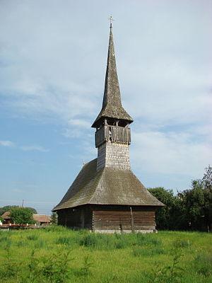 Chețani - Wooden church