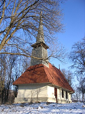 Cuzăplac - Wooden Church in Cubleșu