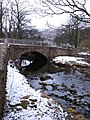Bishopdale Beck at New Bridge - geograph.org.uk - 1723645.jpg