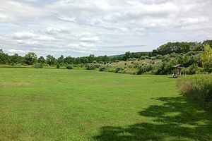 National Register of Historic Places listings in Sussex County, New Jersey - Image: Black Creek Site area view